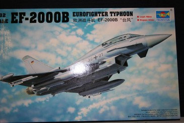 Trumpeter 02279 - 1/32 Deutscher Eurofighter Typhoon Ef-2000B - Neu