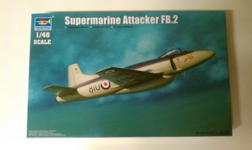 Trumpeter 02867 - 1/48 Supermarine Attacker Fb.2 - Neu