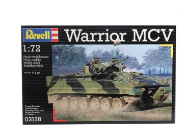 Revell 03128 - 1/72 Warrior Mcv - Neu