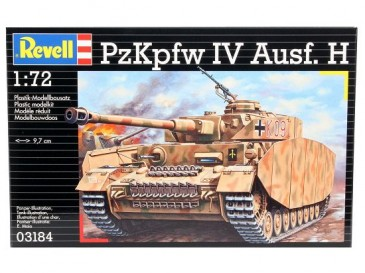 Revell 03184 - 1/72 WWII Dt. Pzkpfw Iv Ausf. H - Neu