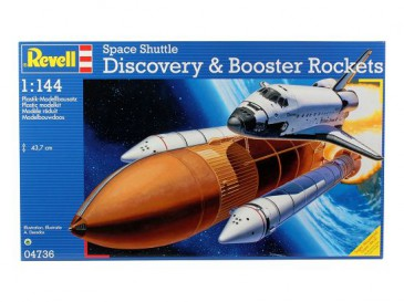 Revell 04736 - 1/144 Space Shuttle Discovery & Booster Rockets - Neu