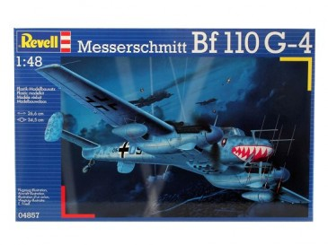 Revell 04857 - 1/48 Messerschmitt Bf-110 G-4 Nightfighter - Neu