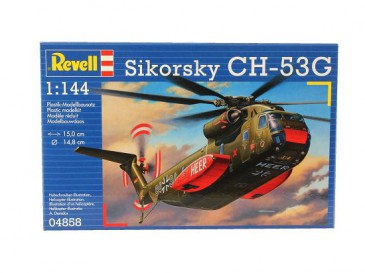 Revell 04858 - 1/144 Ch-53G Transport Helicopter - Neu