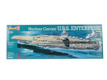 Revell 05046 - 1/720 U.S.S. Enterprise - Nuclear Carrier - Neu