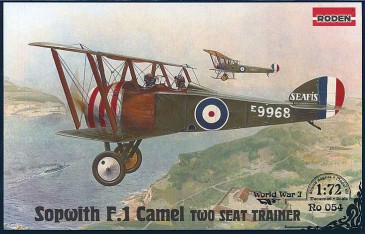 Roden 054 - 1:72 Sopwith T.F.1 Camel Two Seat Trainer - Neu