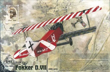 Roden 420 - 1:48 Fokker D.VII (OAW built, early) - Neu