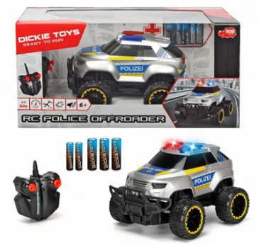 Dickie 201119127 - RC Vehicles - RC Police Offroader, RTR - Neu