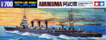 TAMIYA 31349 - 1/700 WL JAPANESE NAVY LIGHT CRUISER ABUKUMA - NEU