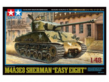 "Tamiya 32595 - 1/48 WWII U.S. Medium Tank M4A3E8 Sherman ""Easy Eight"" - Neu"