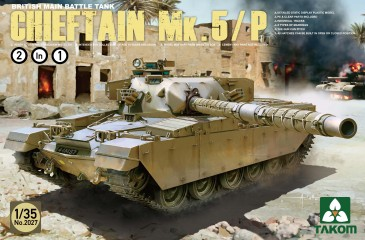 Takom TAK2027 - 1:35 British Main Battle Tank ChieftainMk.5/P - Neu
