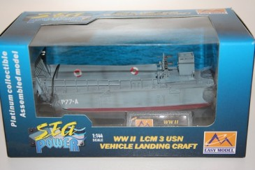 Easy Model 34901 - 1/144 WWII Lcm 3 Usn Vehicle Landing Craft - Landungsboot