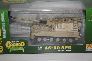 Easy Model 35000 - 1/72 As-90 Spg - British Army - Neu