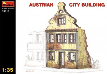 Miniart 35013 - 1/35 Austrian City Building - Neu