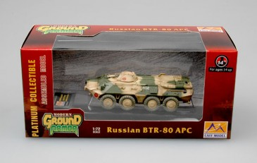 Easy Model 35018 - 1/72 Russischer Btr-80 Apc - Neu