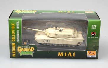 Easy Model 35030 - 1/72 Us M1A1 - Kuwait 1991 - Neu