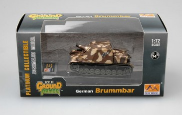 Easy Model 36119 - 1/72 Deutscher Panzer Brummbär - Ostfront 1944 - Neu