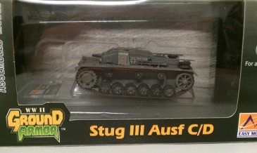 Easy Model 36140 - 1/72 WWII Dt. Stug III Ausf. C/D - Russland Winter 1942 - Neu
