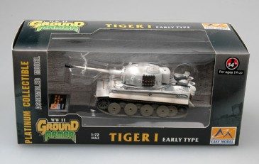 Easy Model 36208 - 1/72 Tiger I (Early Production) - Ss Lah - Kharkov 1943 - Neu