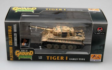 Easy Model 36209 - 1/72 WWII Deutscher Tiger I (Early) - Lah Kursk 1943 - Neu