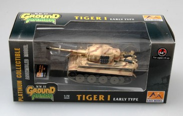 Easy Model 36210 -1/72 WWII Dt. Tiger I (Early) - Das Reich - Russland 1943 -Neu