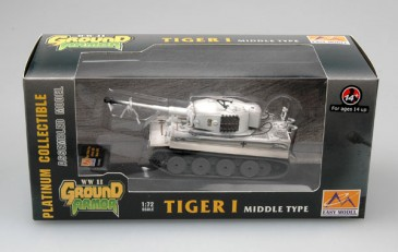 Easy Model 36214 - 1/72 Dt. Tiger I (Middle Type) - S.Pz.Abt. 506 - Russia 1943