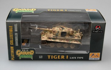 Easy Model 36217 - 1/72 Tiger I (Late Production) - Totenkopf Division 1944 -Neu