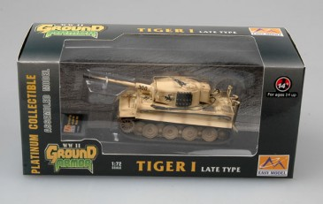 Easy Model 36219 - 1/72 Tiger I (Late Production) - S.Pz.Abt.505 - Russia 1944