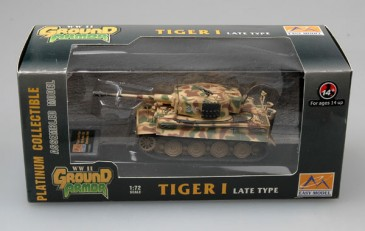 Easy Model 36221 - 1/72 Tiger I (Late Production) - Ss-Pz.Abt.102 -Normandy 1944