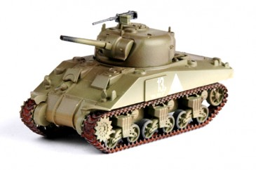 Easy Model 36251 - 1/72 WWII Us M4 Middle Tank - 6Th Armored Div. - Neu