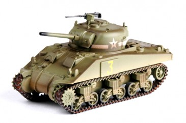 Easy Model 36252 - 1/72 WWII M4 Middle Tank - 1St Armored Brigade - Neu