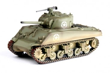 Easy Model 36255 - 1/72 WWII Us M4A3 Middle Tank - Normandy 1944 - Neu