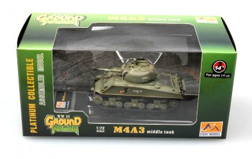 Easy Model 36256 - 1/72 Us Army - M4A3 Panzer - Neu