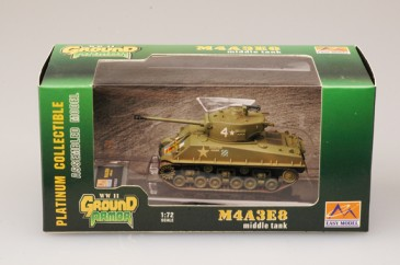 Easy Model 36259 - 1/72 Us Army - M4A3E8 - 64Th Tank Bat. - Neu