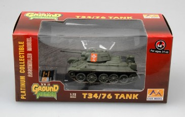 Easy Model 36268 - 1/72 Deutscher T34/76 Mod. 1943 Beutepanzer - Neu