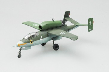 Easy Model 36345 - 1/72 Dt. Heinkel He-162 - Omura Air Base - August 1945 - Neu