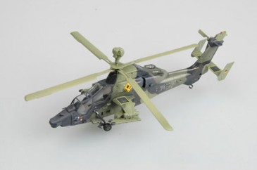 Easy Model 37005 - 1/72 Deutscher Eurocopter Ec-665 Tiger Helicopter - Neu