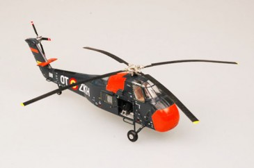 Easy Model 37011 - 1/72 Belgium Air Force Hss-1 UH-34 Choctaw - Neu