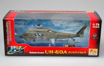 Easy Model 37018 - 1/72 Us UH-60A Blackhawk - Medevac - Neu