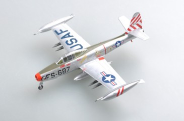 Easy Model 37108 - 1/72 Us F-84E Thunderjet - Neu