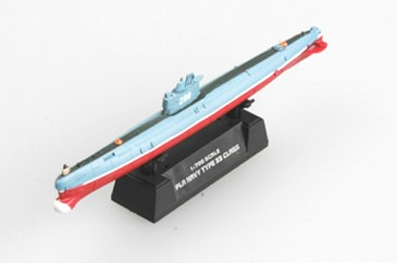 Easy Model 37322 - 1/700 The Pla Naval U-Boot - Type 033 Class - Neu
