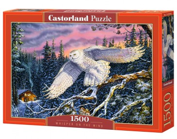 Castorland C-151554-2 - Whisper On The Wind, Puzzle 1500 Teile - Neu