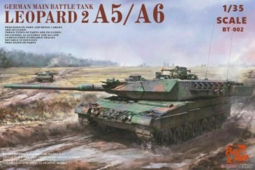 Border Model BT002 - 1:35 Leopard 2 A5/A6/Early A6 3in1 - Bundeswehr - Neu