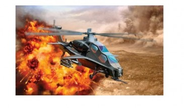 DRAGON 4632 - 1/144 PLA WZ-10 ATTACK HELICOPTER - NEU