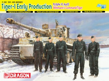 Dragon 6730 - 1/35 Dt. Tiger I (Early Production) - M. Wittmann - Neu