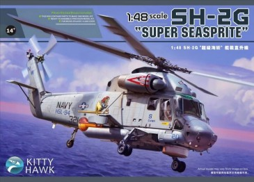 "Kitty Hawk KH80126 - 1/48 SH-2G ""Seasprite"" - Neu"