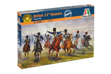 Italeri 6188 - 1/72 British 11th Hussars (Crimean war) - Neu
