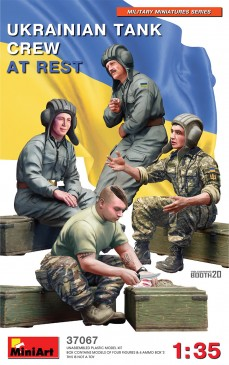 Miniart 37067 - 1:35 Ukrainian Tank Crew at Rest - Neu