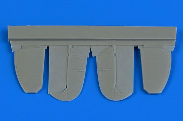 Aires 7351 - 1:72 Spitfire Mk.IX control surfaces (metal) for Eduard - Neu