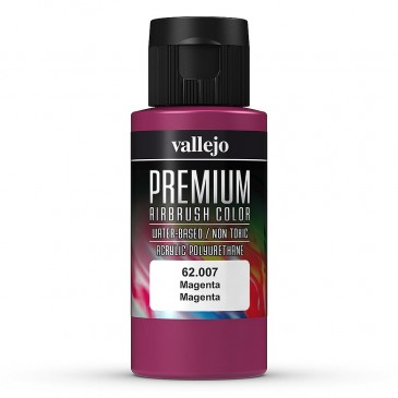 Vallejo 62.007 - Magenta, matt, 60 ml (100ml/10,00€) - Neu