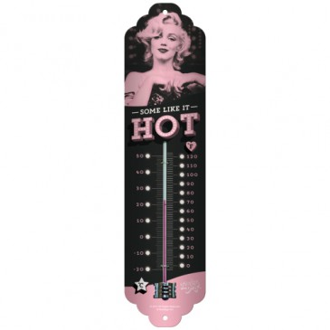 Thermometer 80317 - Marilyn - Some Like It Hot - 6,5 X 28cm - Neu